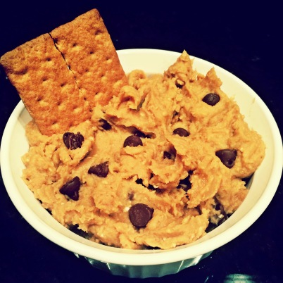 My beautiful (if I do say so myself) Chickpea Cookie Dough Dip