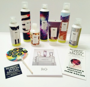 My R+Co loot from Robert Jason Salon